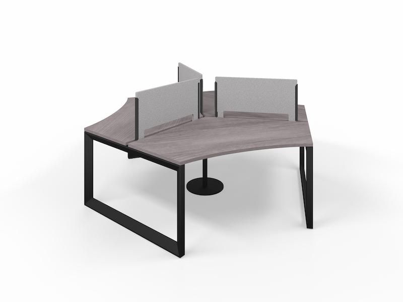 Pivit Pod (Grey Ash / Black Base)     PET Screens (Smoke)