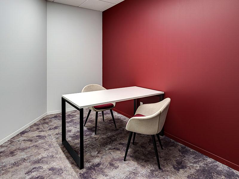 Pivit Open Frame Desk | Lark Lounge Seating