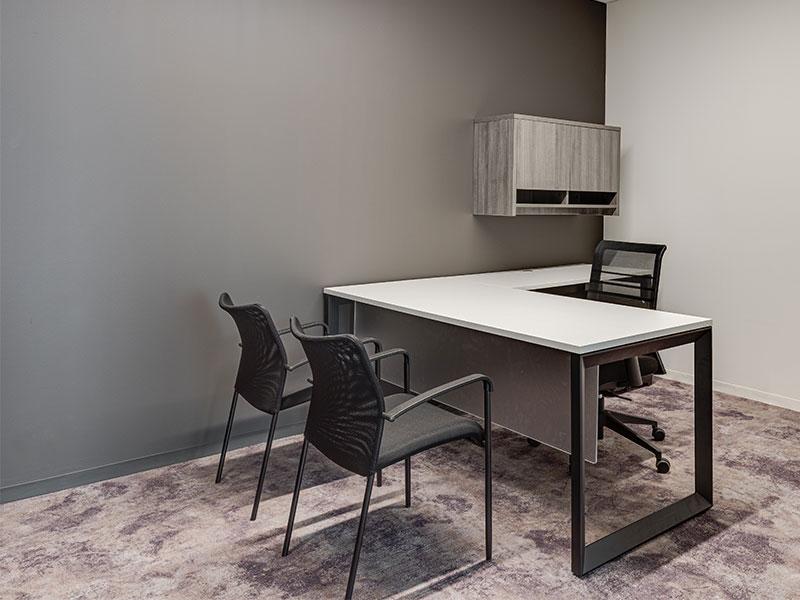 Pivit Open Frame Desk | Match Multipurpose Seating | Lucky Task Chair