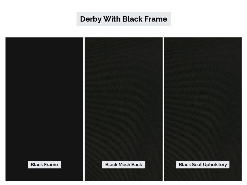 Derby with Black Frame Color Palette