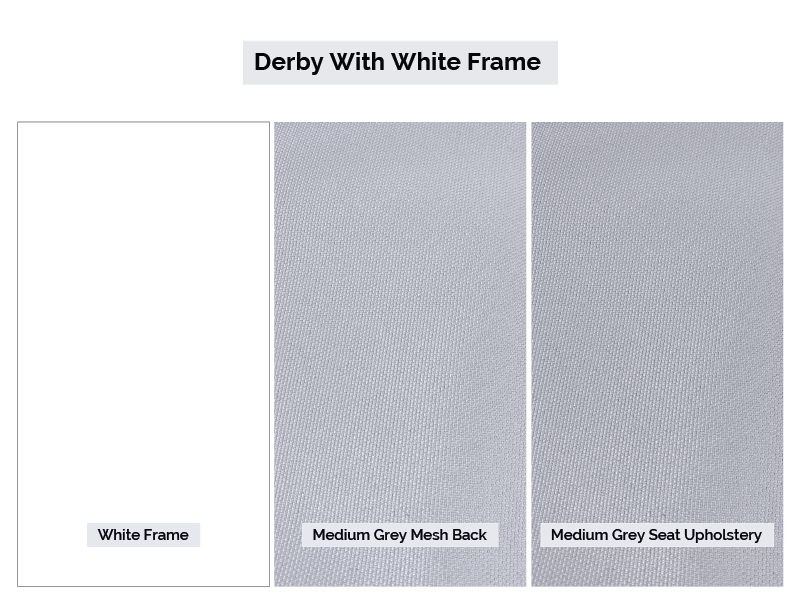 White Derby Finishes