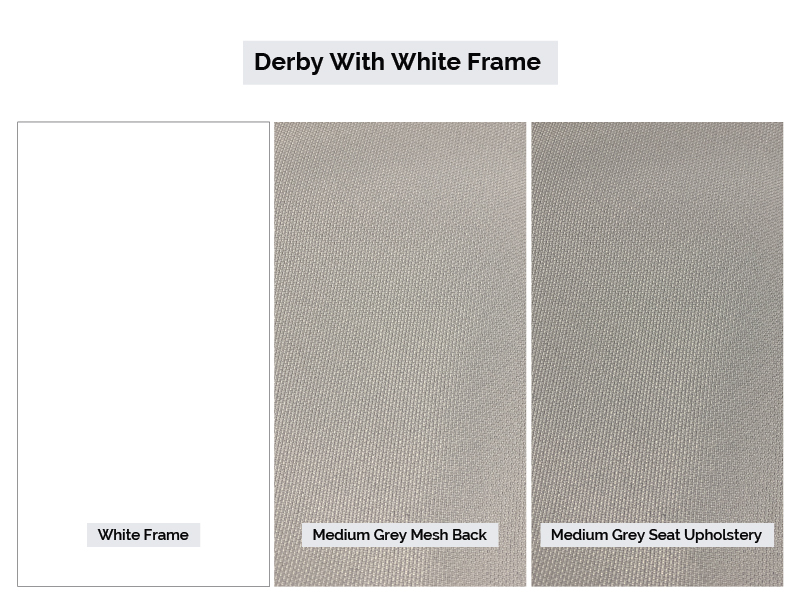 Derby with White Frame Color Palette