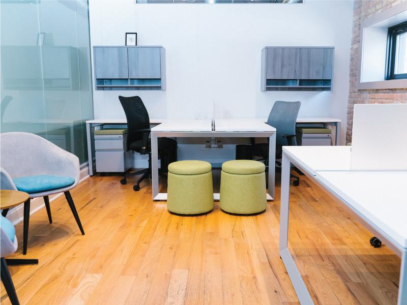 Dot Multipurpose Seating (Peat) | Pivit Open Frame Desking