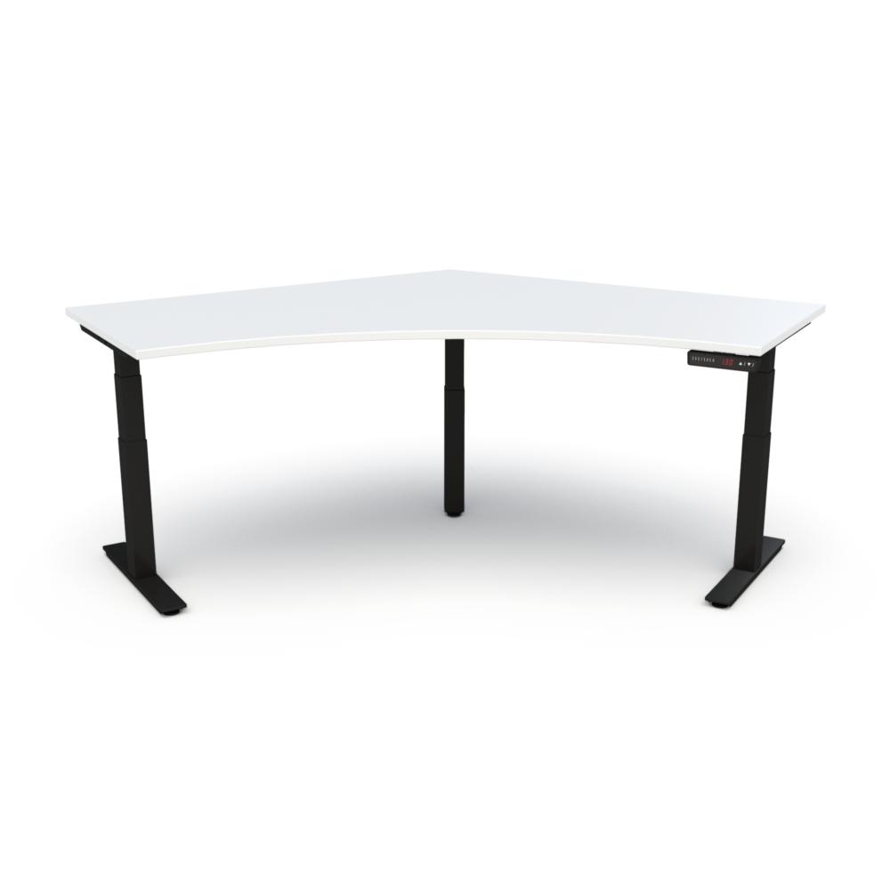 HiLo 3-Leg Base in Black w/ White