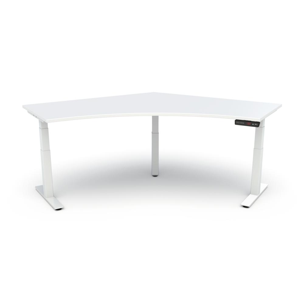 HiLo 3-Leg Base in White w/ White