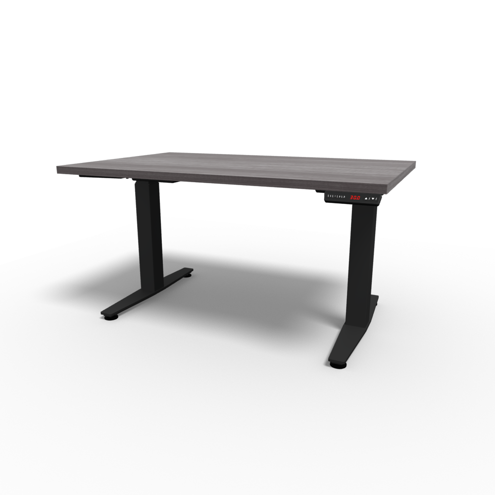 HiLo 2-Leg Base in Black w/ Grey Ash