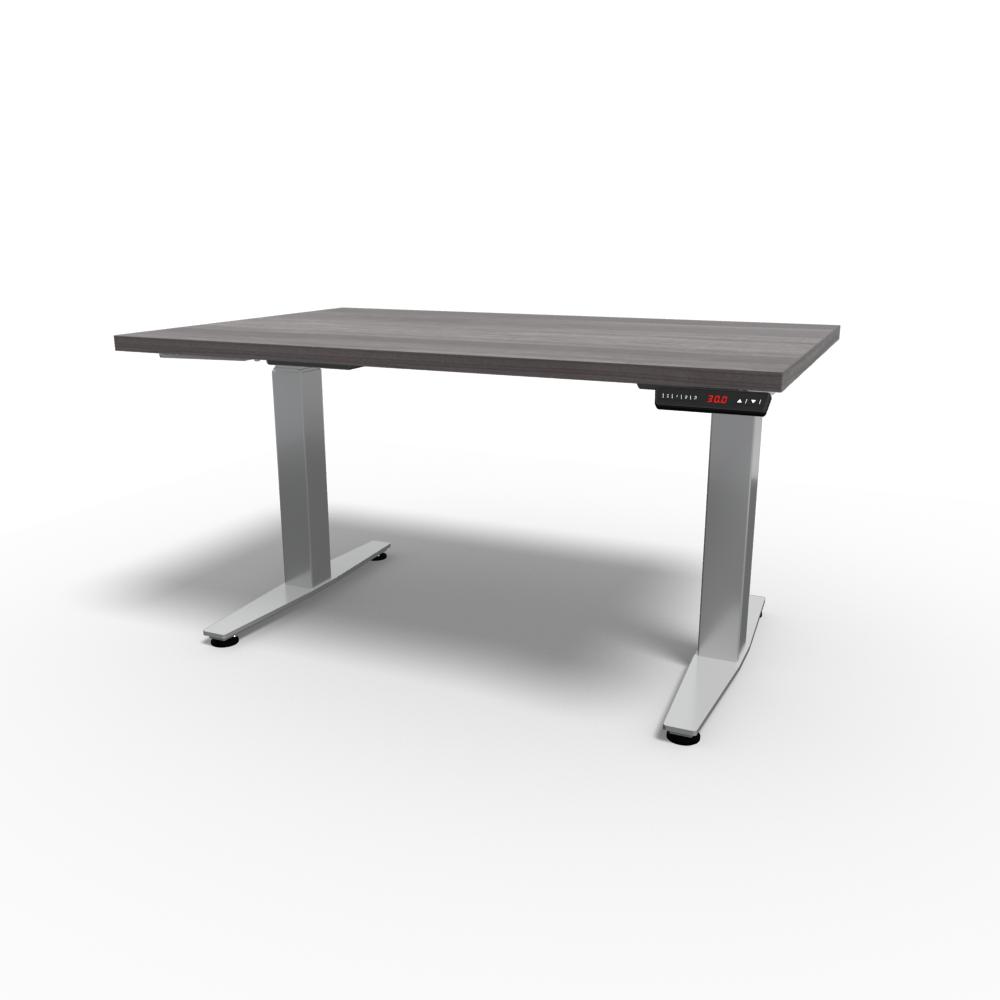 HiLo 2-Leg Base in Silver w/ Grey Ash