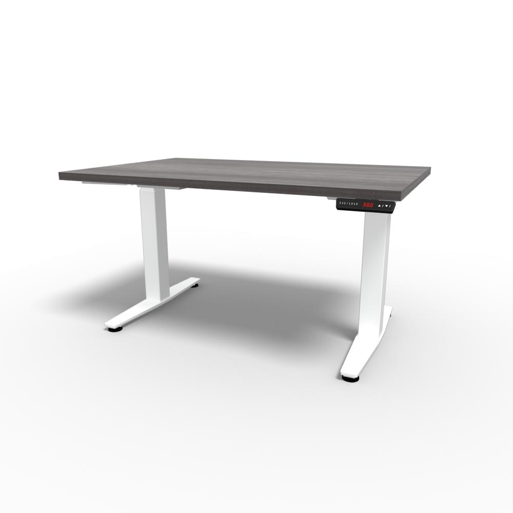 HiLo 2-Leg Base in White w/ Grey Ash