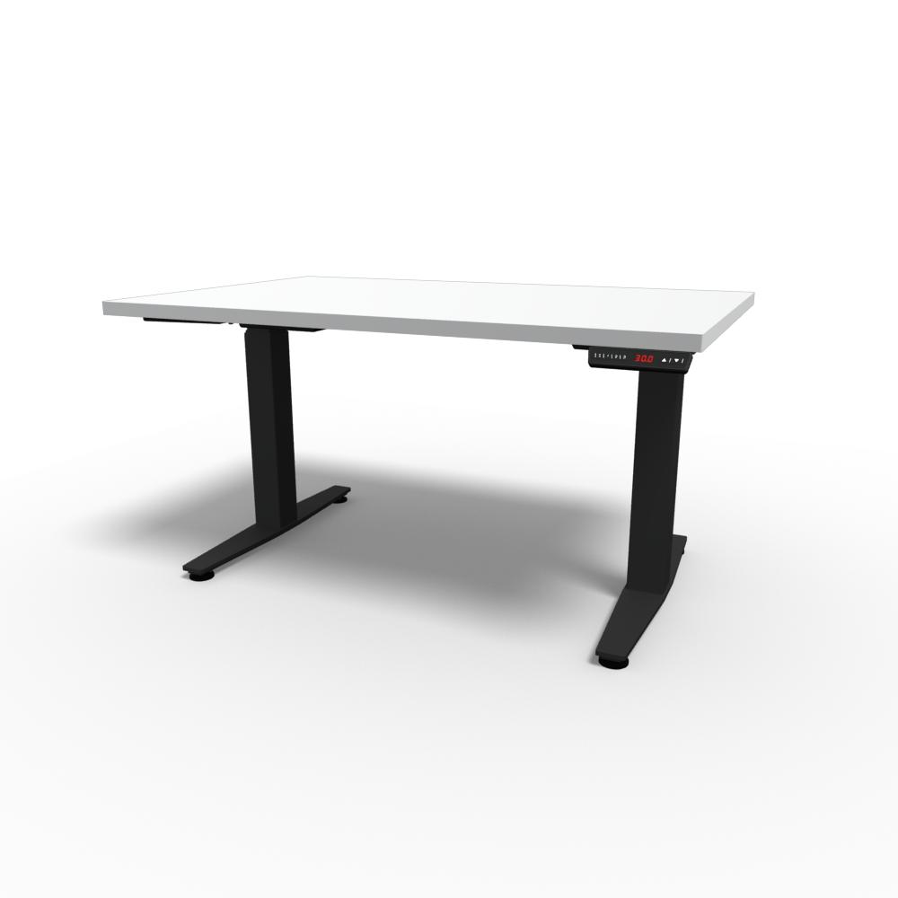HiLo 2-Leg Base in Black w/ White