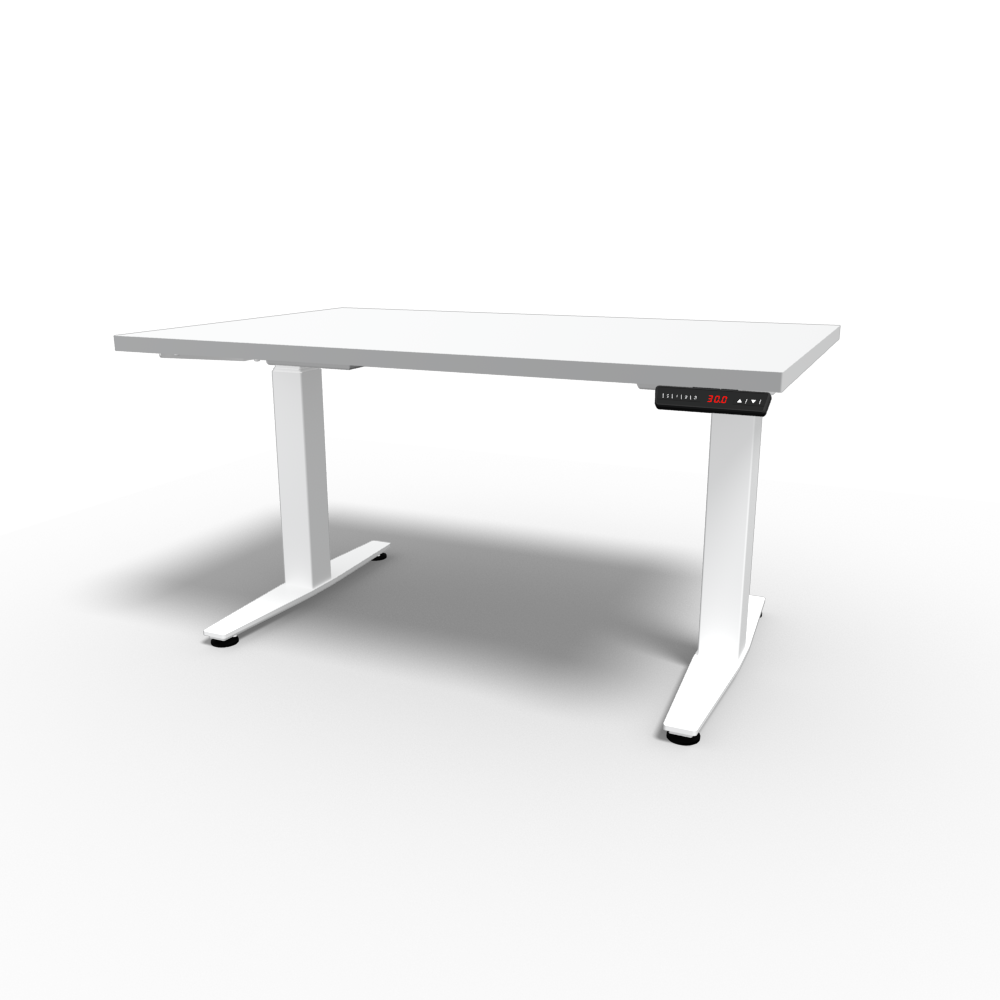 HiLo 2-Leg Base in White w/ White