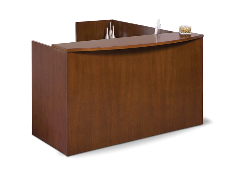 Insignia Reception Desk (Luna Cherry)
