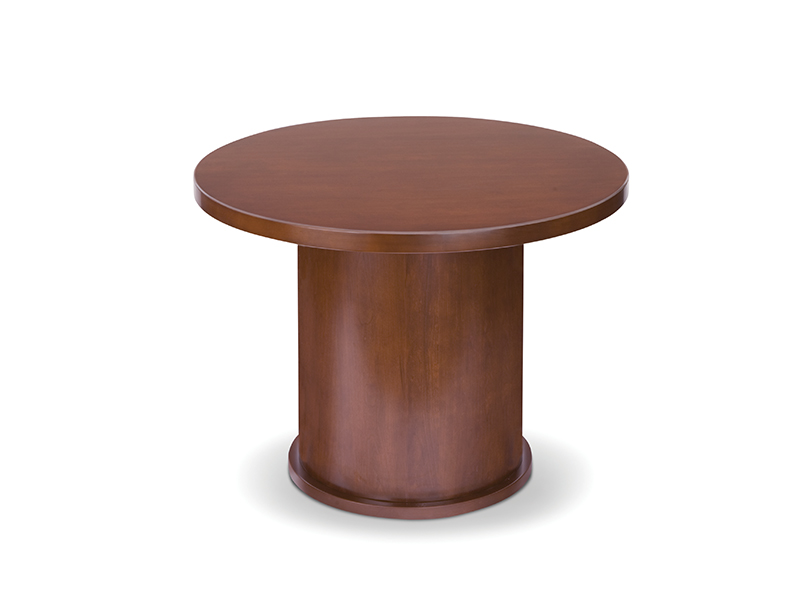 Insignia Round Conference Table (Luna Cherry)