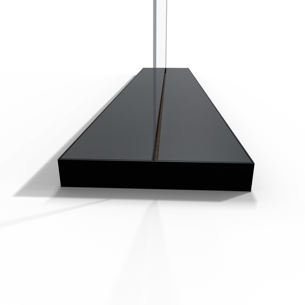 Laminate Channel Base in Black