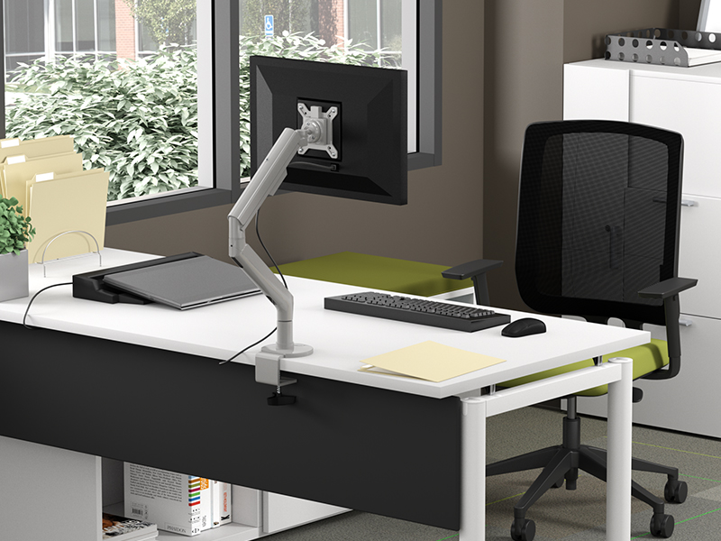 Single Monitor Arm | zDesk Bench