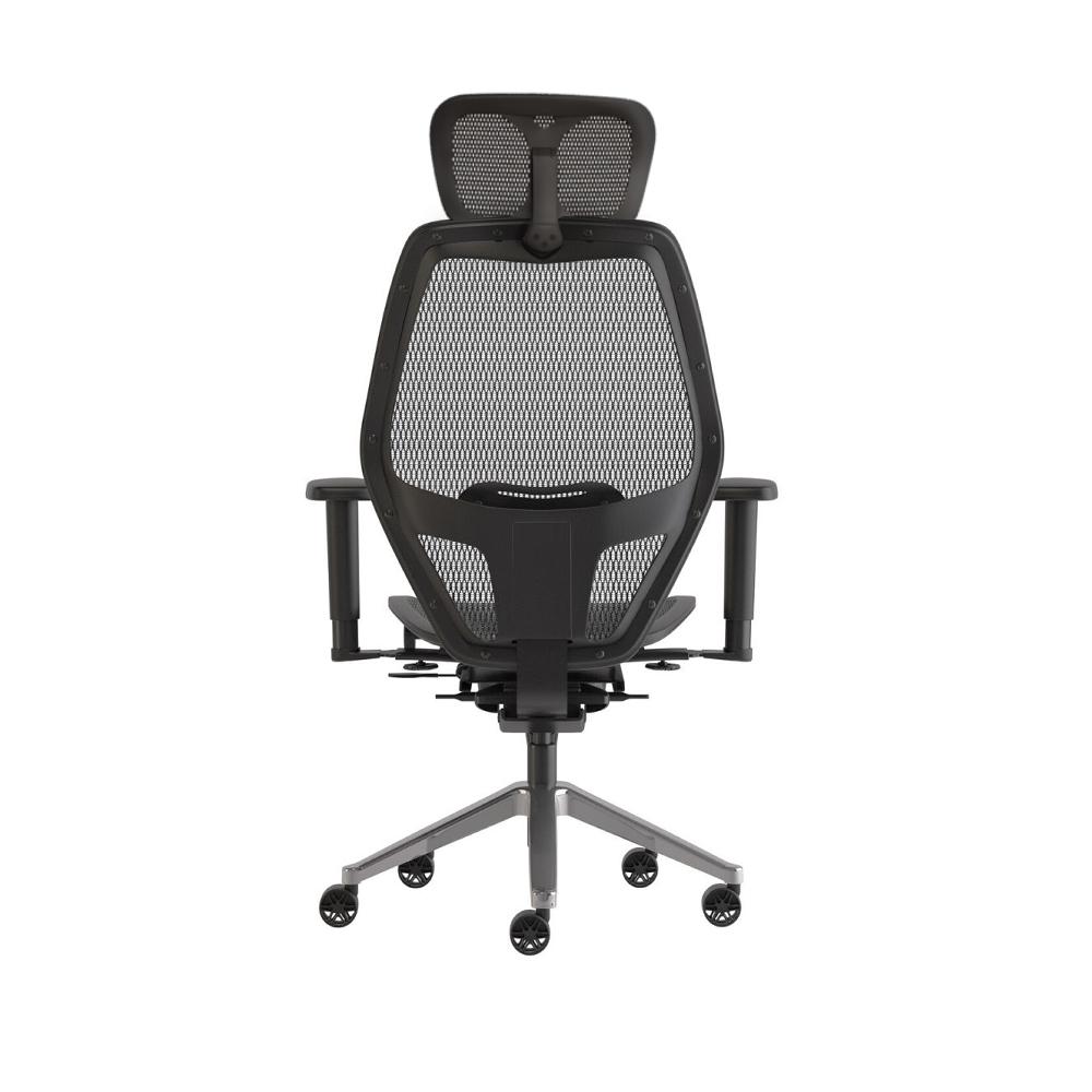 Net Task, Chrome Base w/ Headrest
