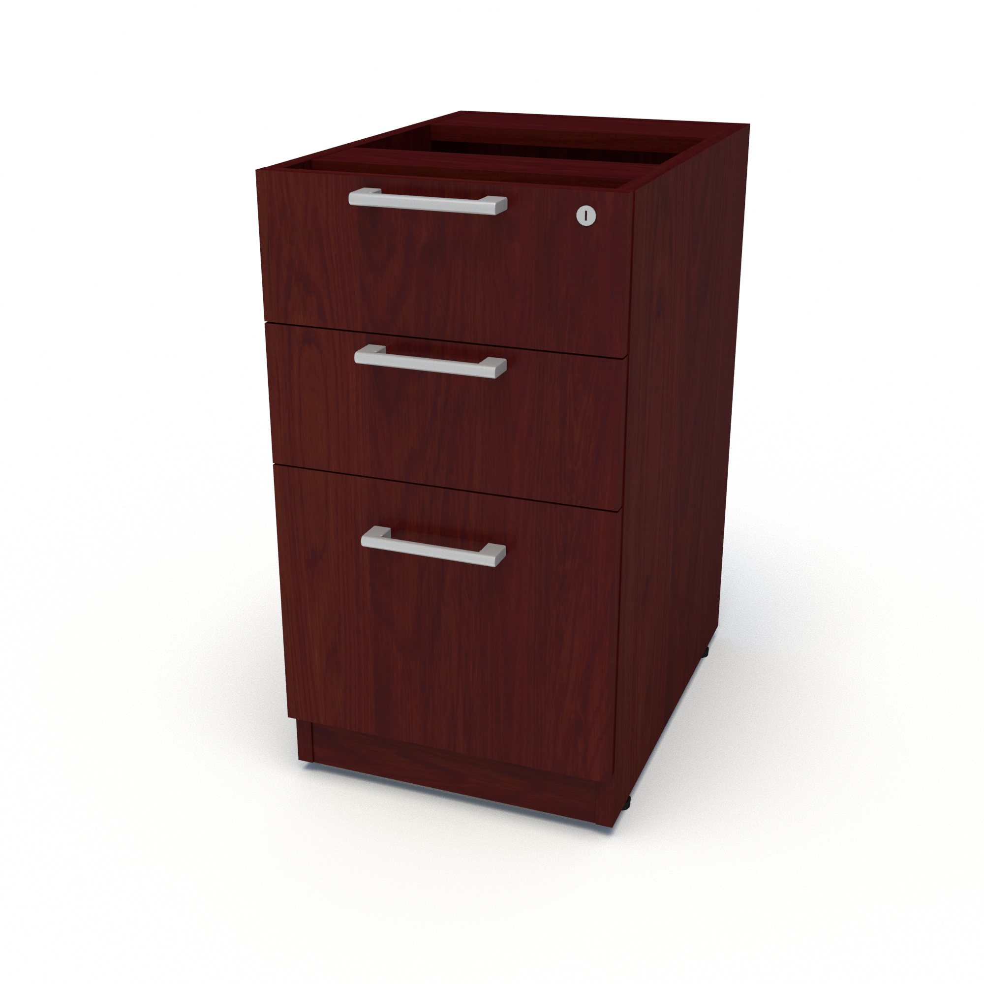 Top Supporting Pedestal, Box Box File (American Cherry)
