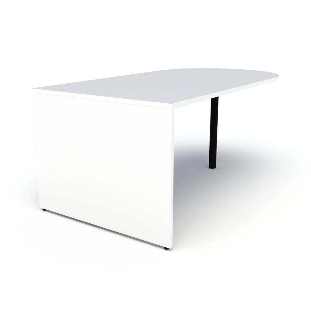 Pivit Media Table in White