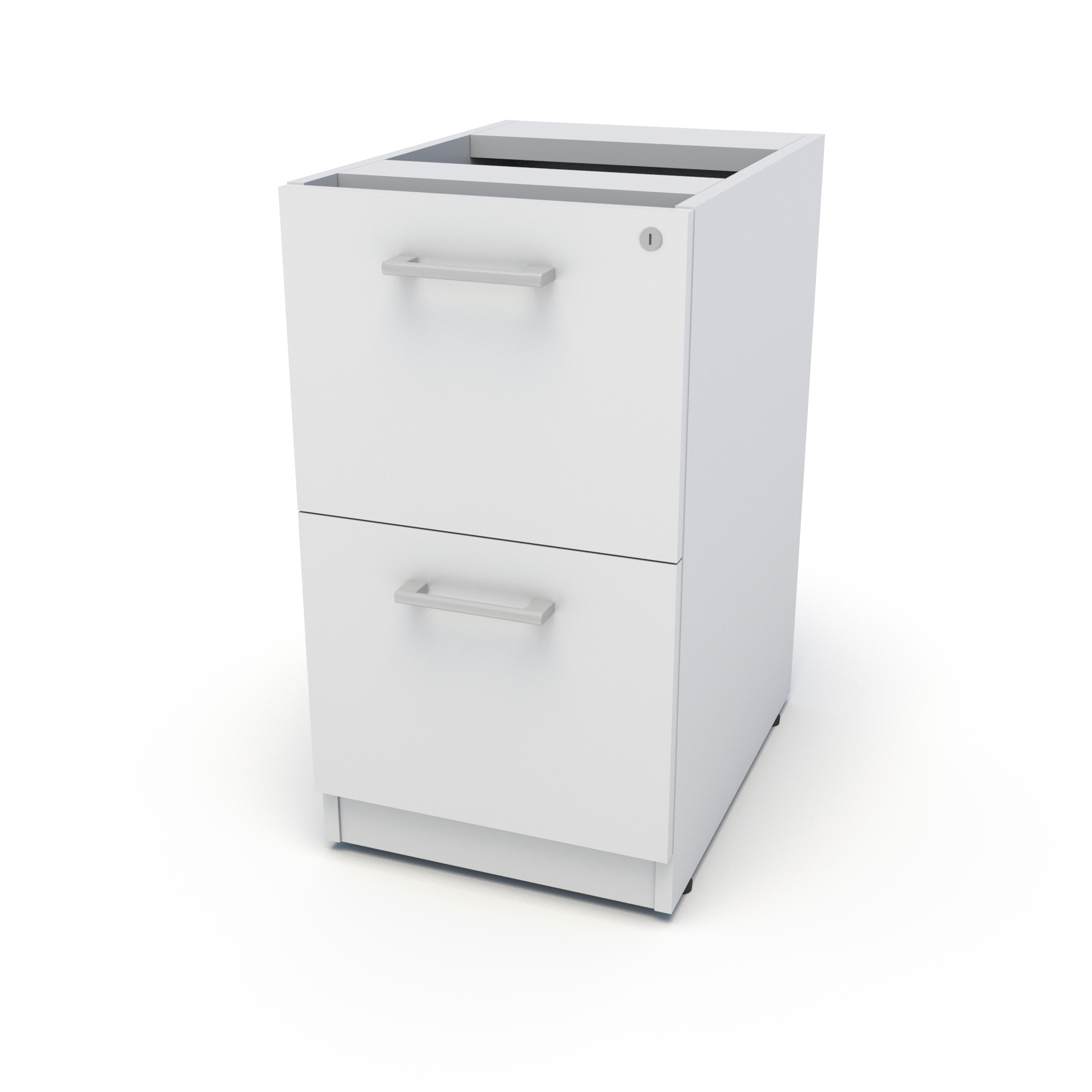 Top Supporting Pedestal, File File (White)