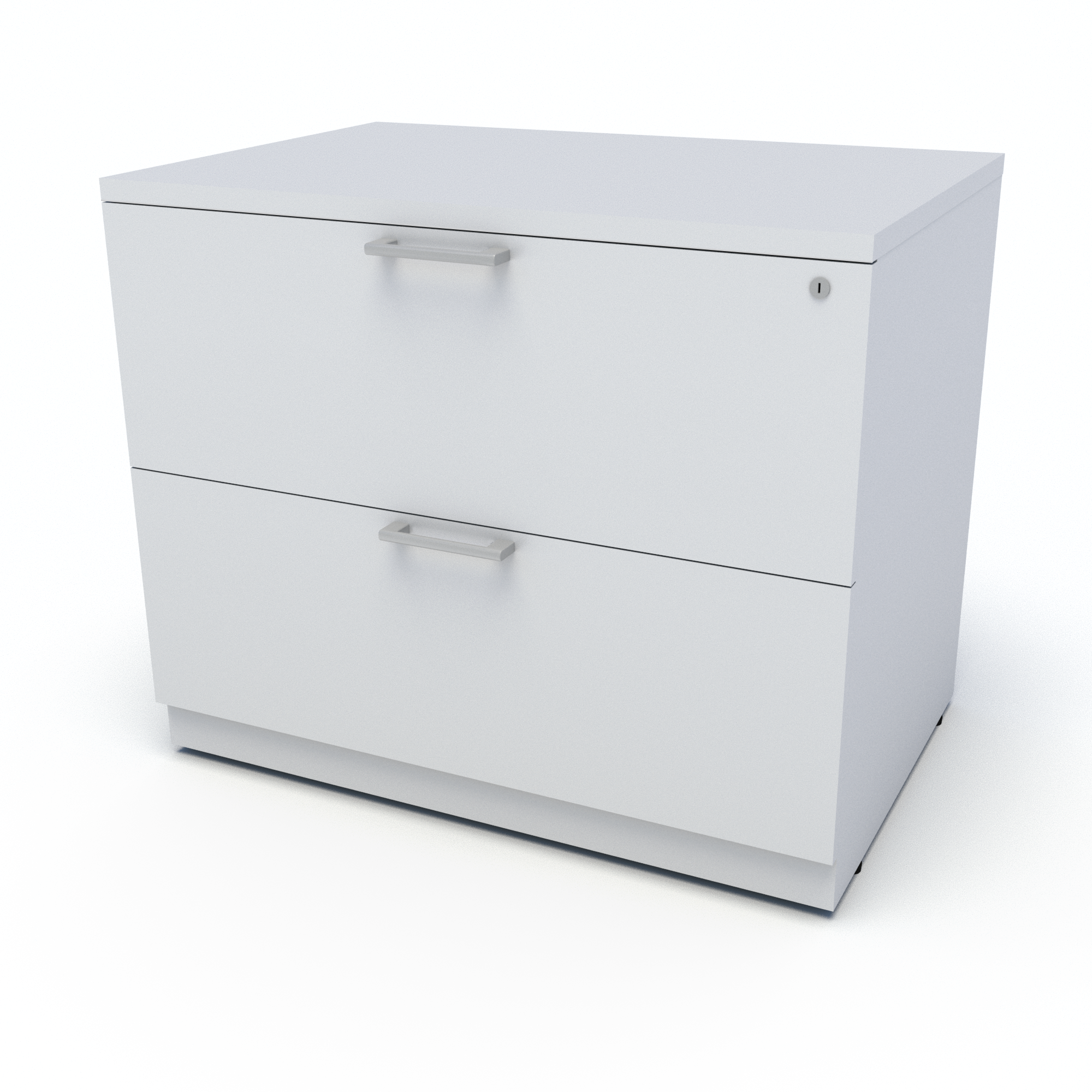 Lateral File (White)