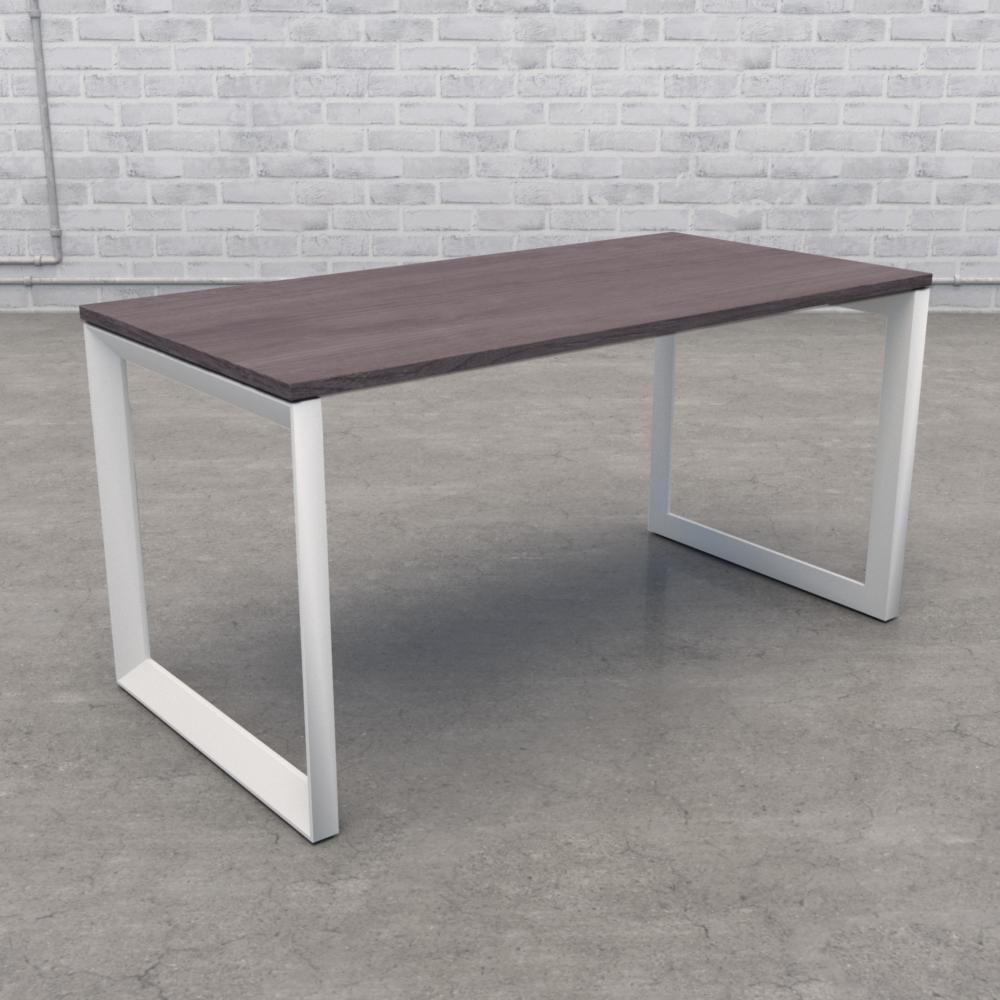 Pivit Frame Desk   Grey Ash / White