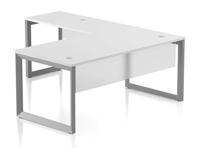 Pivit Open Frame Desking (Basic White)