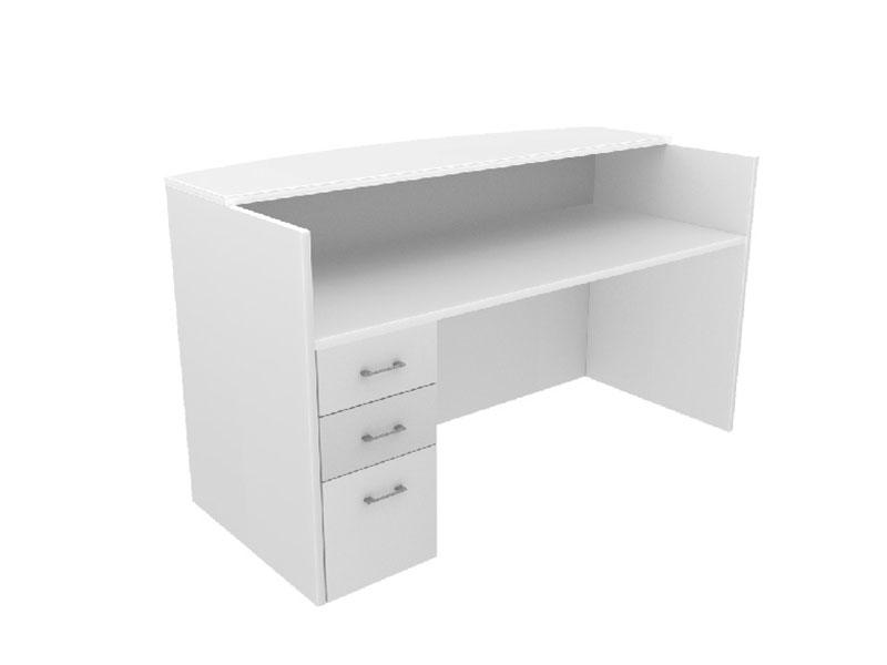 Pivit Reception Table (White)
