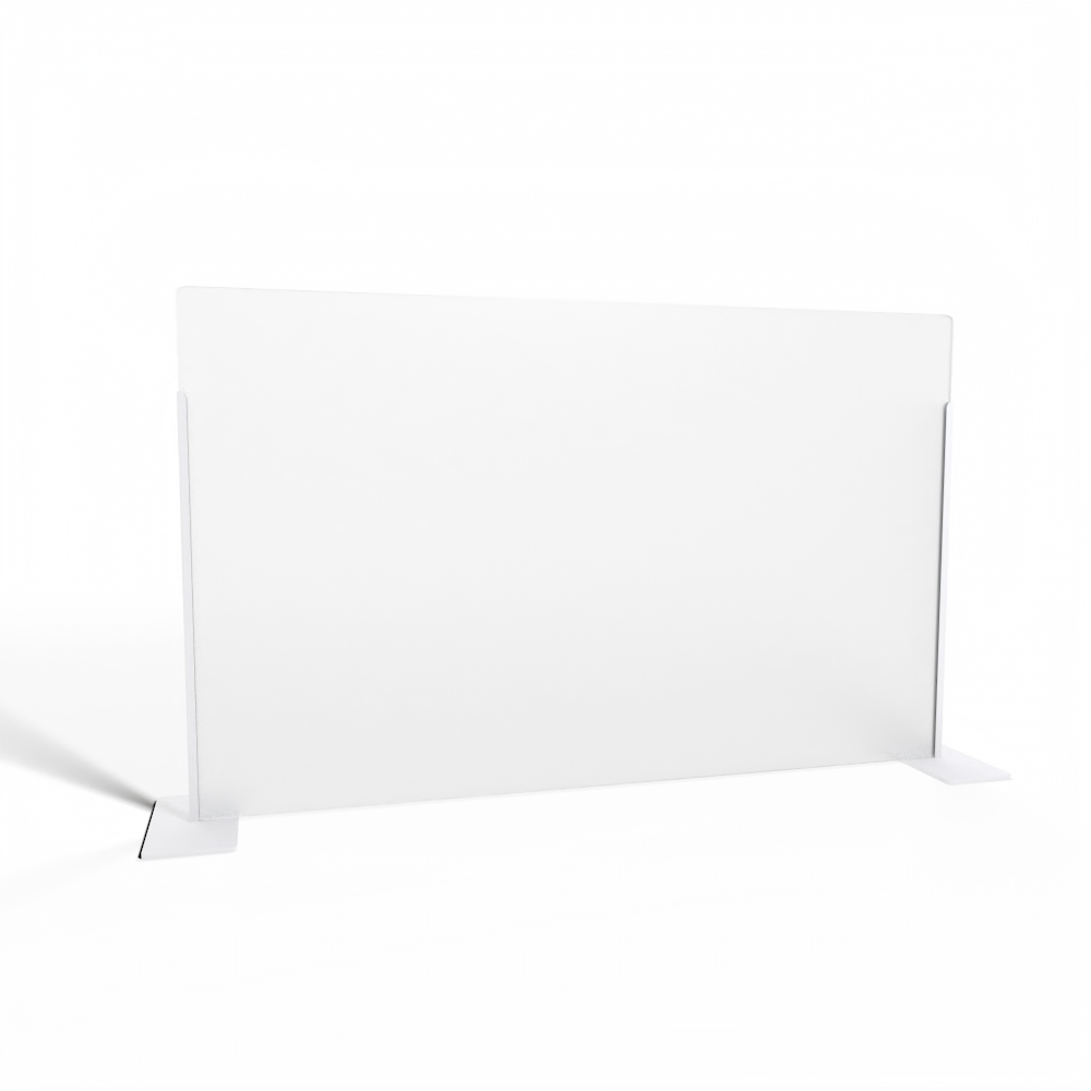 Transaction Top Screen  |  White Brackets  |  Frosted Acrylic