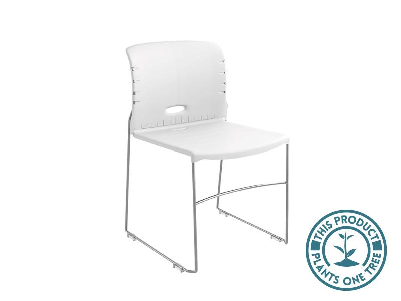 Konnekt Chair (White/Chrome)