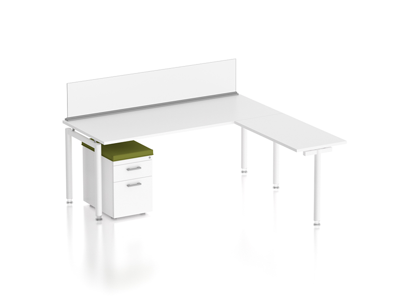 z1 zDesk Bench With Return