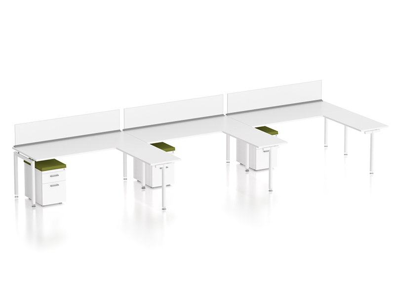 z1 zDesk Bench 3 Pack With Returns