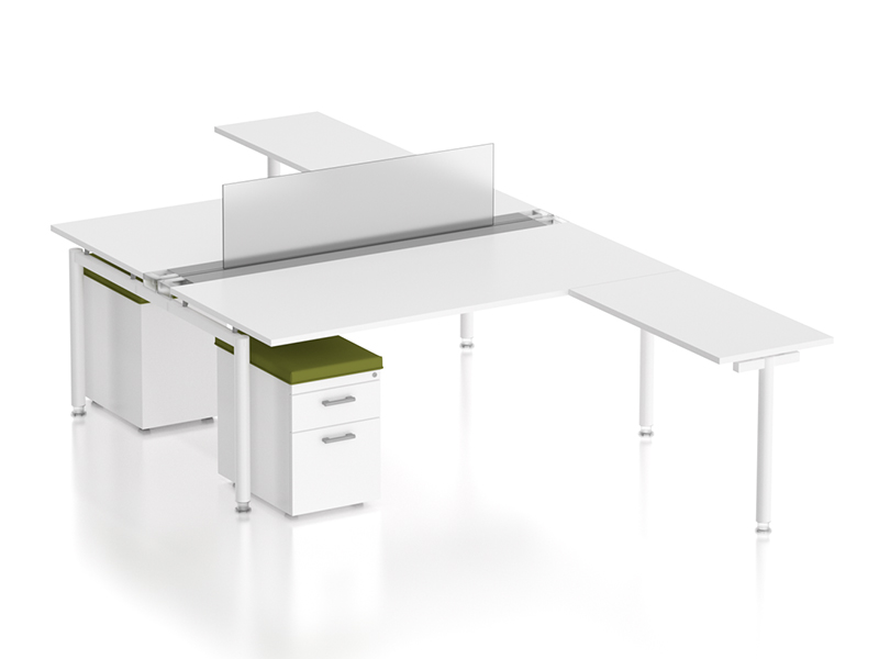 z2 zDesk Bench With Returns