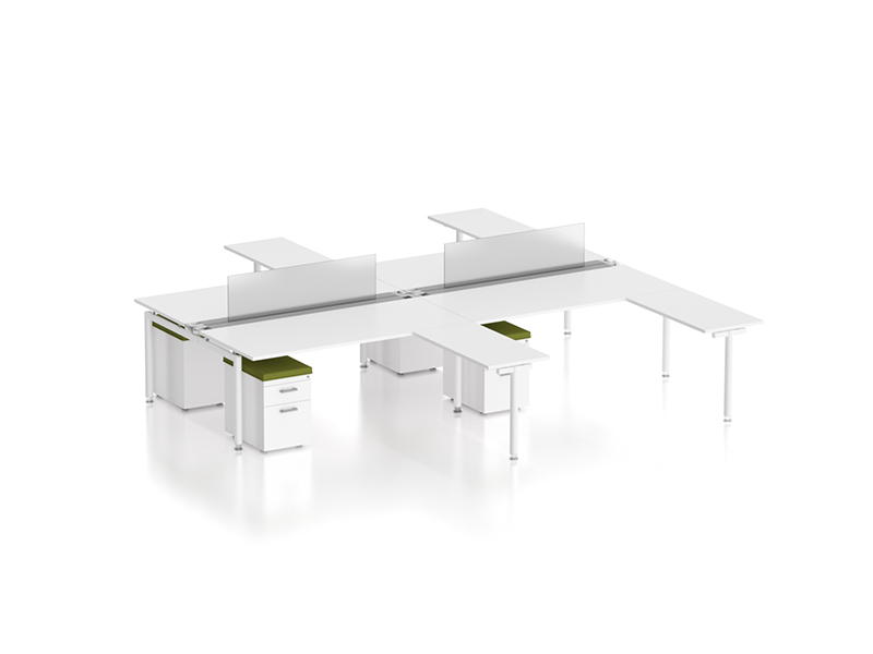 z2 zDesk Bench 4 Pack With Returns