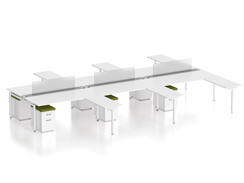 z2 zDesk Bench 6 Pack With Returns